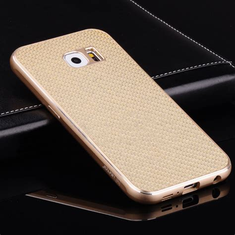 Carbon Black Samsung S6 for samsung galaxy s6 s6 edge plus luxury metal bumper
