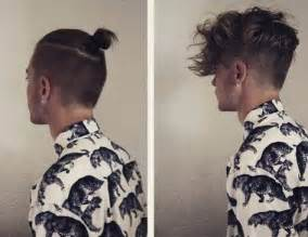 top knots hair length for top knot hairstyle tips for short hair men man bun hairstyle