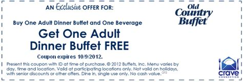 Old Country Buffet Coupons Stream Sex Video Country Buffet Application