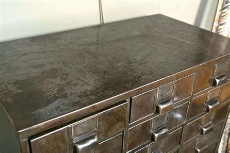 27 Industrial Drawer Metal Cabinet at 1stdibs