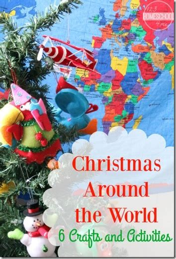 christmas around the world 6 crafts activities