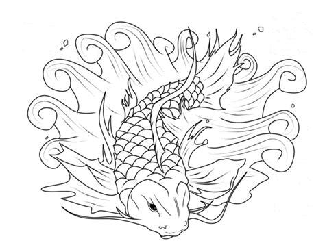 koi fish coloring pages koi fish coloring page printable fish coloring page