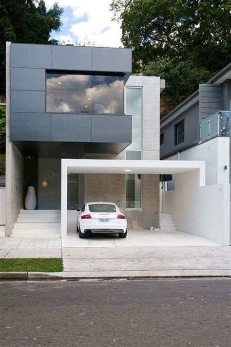 modern minimalist house beautiful exterior design for double bay house by level orange architects architecture