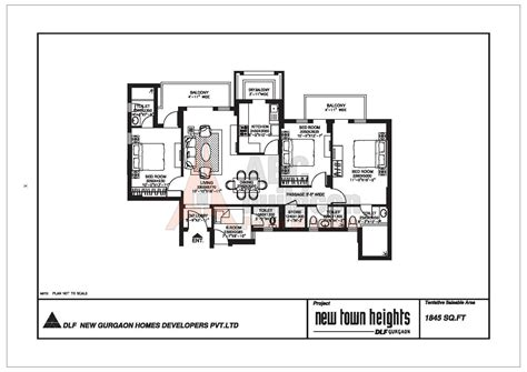 dlf new town heights floor plan dlf new town heights floor plan floorplan in