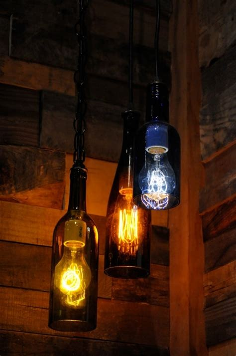 How To Make Wine Bottle Lights by Wine Bottle Ls