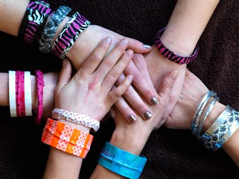 how to make duct jewelry three ways to make duct and washi bracelets how tos