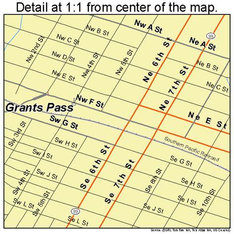 the map grants pass oregon grants pass oregon map 4130550