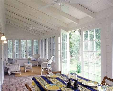 Sun Porch Ideas Open Back Porch Design Pictures Remodel Decor And Ideas