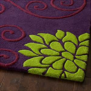 purple floral rugs rosetta floral rug rs 10 purple green from rugshop uk