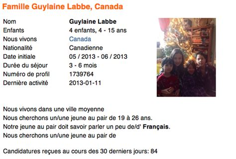 Lettre De Recommandation Fille Au Pair Comment Devenir Fille Au Pair Au Canada