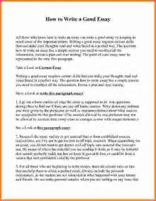 How To Write An Essay Samples How To Write A Excellent Essay