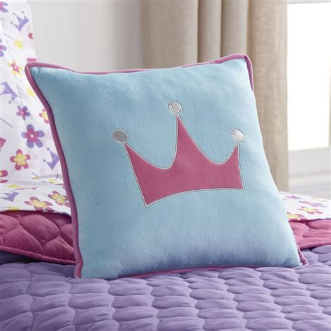 decorative bed pillow piper girl s decorative bed pillow crown home bed bath bedding decorative pillows