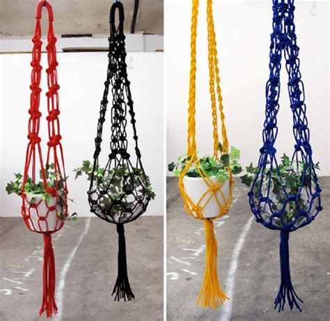 Macrame Patterns For Hanging Plants - top 10 fancy ideas for macrame hanging planter macrame