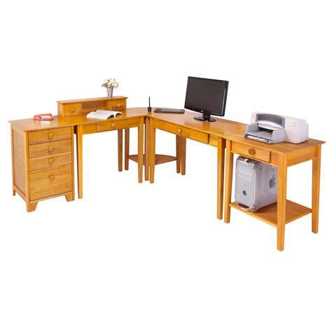 amazon home office desk amazon com winsome studio home office furniture set