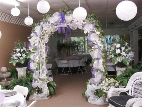 Wedding Arch Purple by Photo Gallery Photo Of Purple Wedding Arch