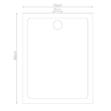 plato ducha 70 x 90 plato de ducha rectangular 70 x 90 cm tienda