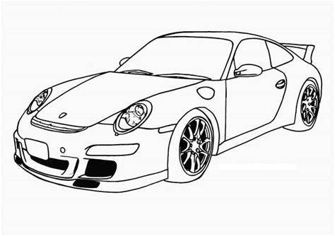 Porsche Coloring Pages Porsche Coloring Pages Porsche Coloring Pages