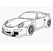 Porsche Coloring Pages  Only