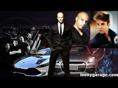 fast and furious 8 justin bieber fake justin bieber in fast and furious 7 youtube