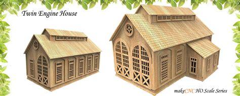 Model Railways Laser Cut Patterns Laser Cut House Template