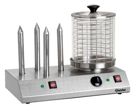 Bartscher Electric Hotdog Machine bartscher electric cooker 4 heating elements stainless steel 500x285x h 390mm