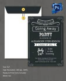 farewell invitation card template invitation card template 25 free psd ai vector eps