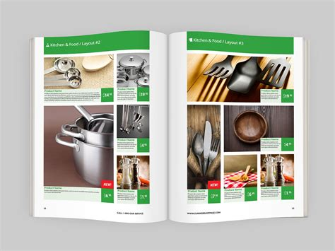 Product Catalog Indesign Template Indiestock Indesign Catalog Templates