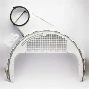 Ge Clothes Dryer Parts We14x21334 For Ge Clothes Dryer Lower Air Duct Walmart