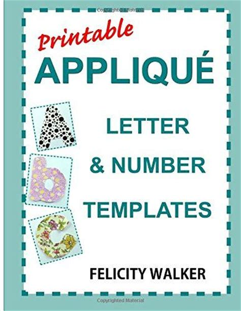 fabric letter templates 17 best ideas about applique letters on