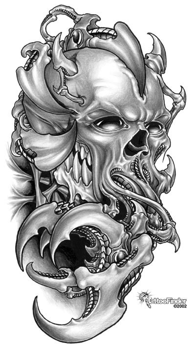 funny photos skull tattoo designs photos