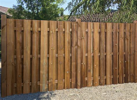 Windschutz Garten Holz