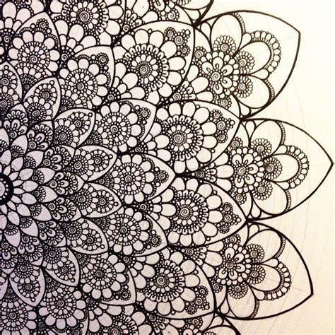pattern in sketch 3202 best shapes colors zentangle mandala art images on