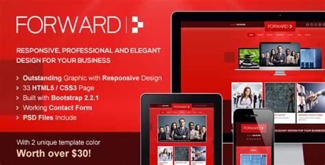 Forward Professional Responsive Html Template Your Best Themes Professional Responsive Website Templates