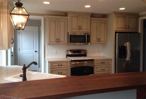 glazed cabinets  agreeable gray ideas  home