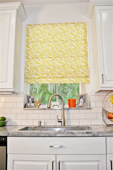 yellow kitchen blinds live laugh decorate a week in weston kitchen reveal
