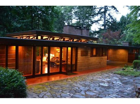 usonian house brandes home sammamish washington 1952 usonian style
