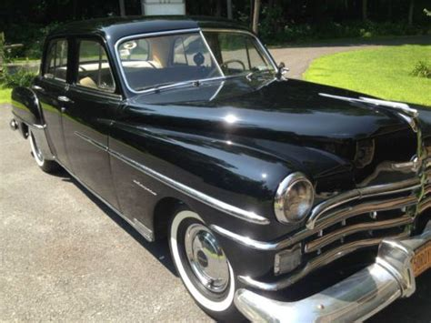 1950 chrysler royal find used 1950 chrysler royal 4 door sedan spitfire