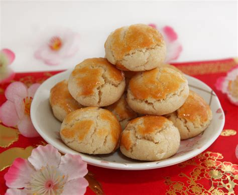 new year cookies recipes new year almond cookies with crunch bread et