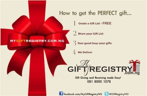 weddings made perfect with mygiftregistry com ng