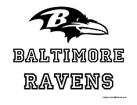 nfl ravens coloring pages nfl coloring pages