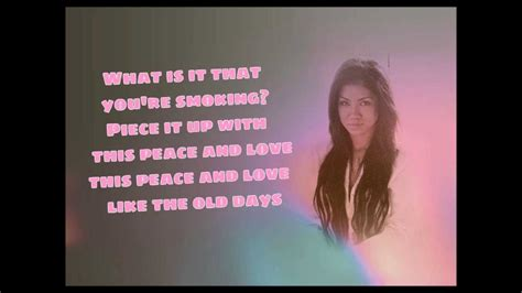 bed peace jhene aiko lyrics bed peace lyrics jhene aiko ft childish gambino youtube