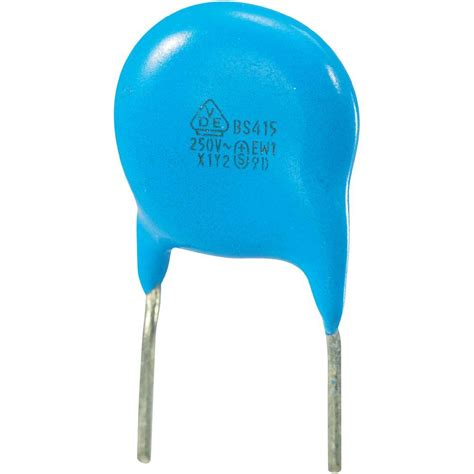 10 pf ceramic disc capacitor ceramic disc capacitor radial lead 1000 pf 250 vac from conrad electronic uk