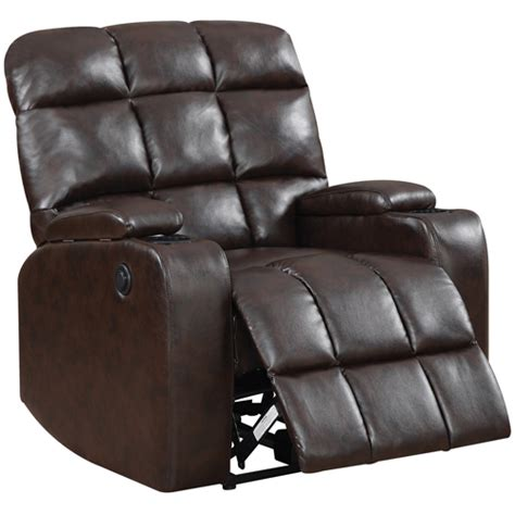 power theater recliners global furniture 97570 liberty home theatre power brown