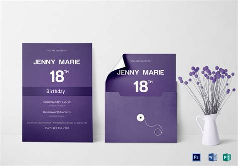 invitation card design template for event debut event invitation card design template in word psd