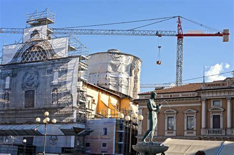 L Post by Ricostruzione Post Sisma A L Aquila 6 Arresti Per