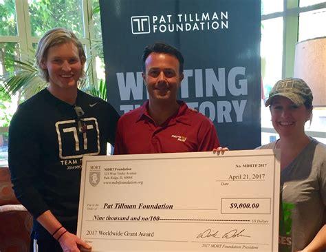 million dollar table foundation pat tillman foundation receives grant from million dollar