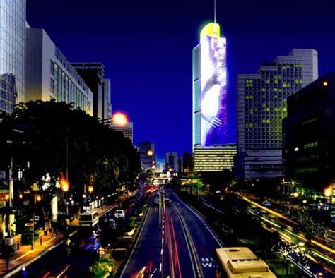 Led Jakarta 30 dazzling and interactive media facades webdesigner depot