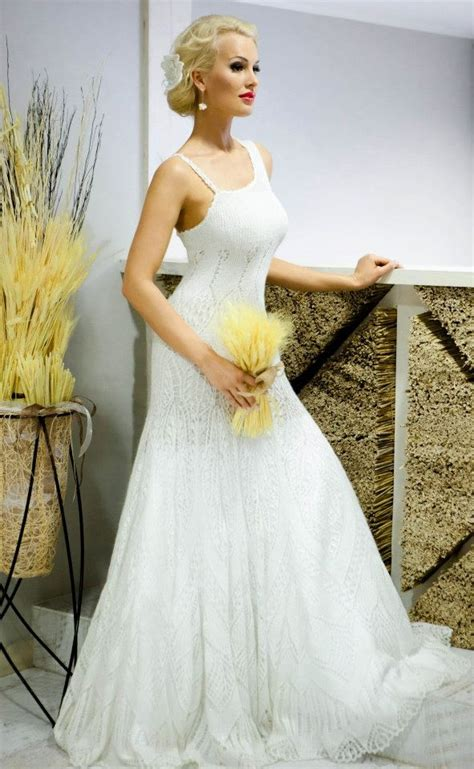 knit wedding dress mohair silk knitted wedding dress knitted crocheted