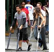 Taylor Lautner Rides Around On Custom Made Bike With