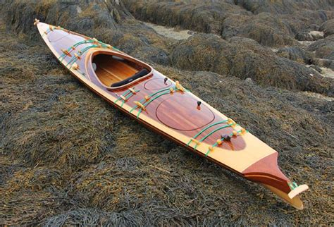 how to build a kayak boat sexy laughing loon wooden strip built kayaks and canoes